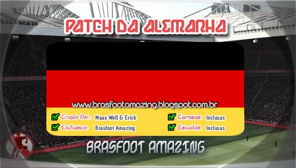 patches da alemanha brasfoot 2013