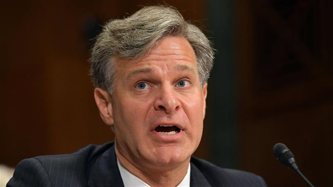 US Senate confirms Christopher Wray as new FBI director after President Donald Trump fired James Comey