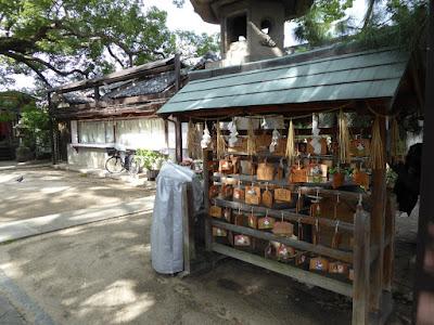 三島神社 絵馬掛け