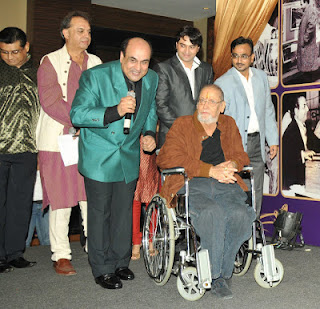 Camaal Mustafa Sikander with Bollywood Actor Shammi Kapoor