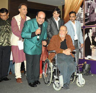 Camaal Mustafa Sikander with Bollywood Actor Shammi Kapoor
