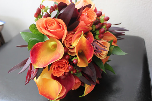 FULL SERVICE & DO-IT-YOURSELF WEDDING FLOWERS BLOG: Burnt