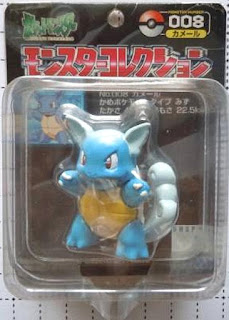 Wartortle figure Tomy Monster Collection black package series