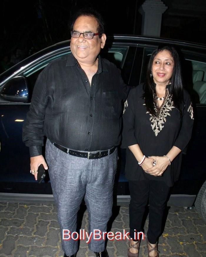Satish Kaushik, Hot HD Pics of Shilpa Shetty Shamita Shetty From 'Dil Dhadakne Do' Trailer Launch at Anil Kapoor Residence
