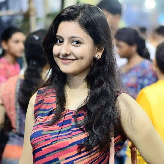 Srabani Bhunia Smile