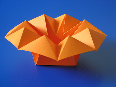 Origami Vaso stella - Star Vase by Francesco Guarnieri