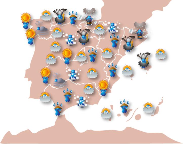 Relojes-Termometros Permanentes de España