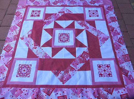 Celtic Valentine Twist Quilt Free Pattern