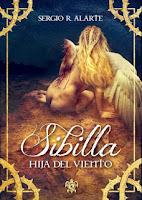 """Portada de """"Sibilla. Hija del viento"""", de Sergio R. Alarte"""