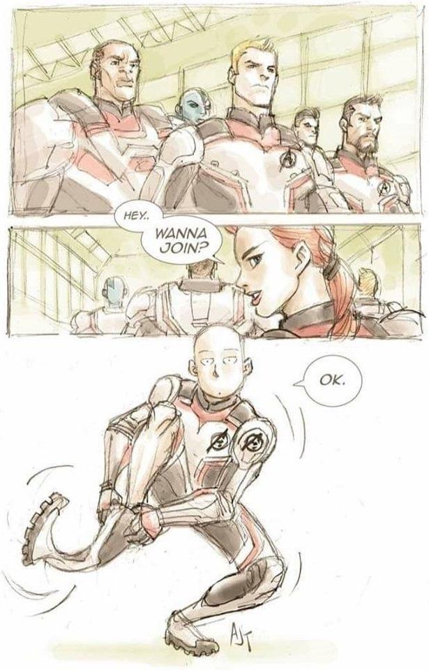 Saitama: The strongest Avenger
