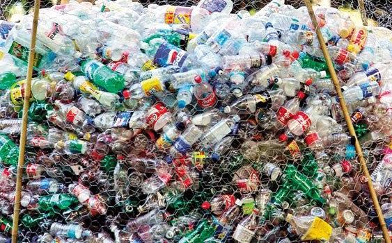 plastik kaplara dikkat