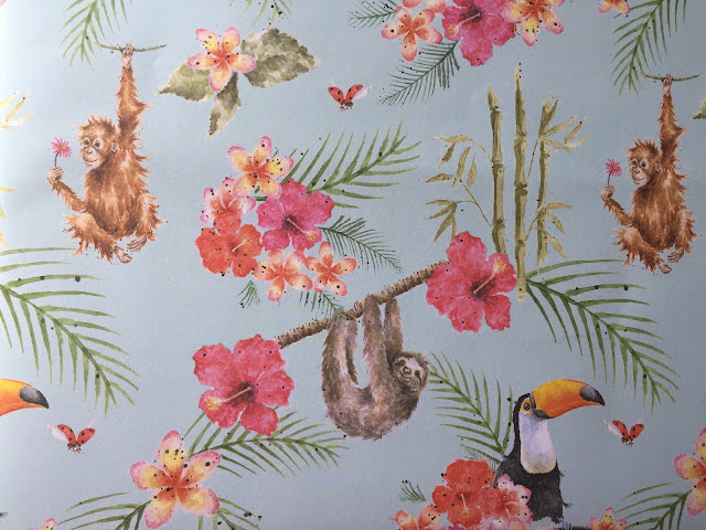 Zoology Double Sided Gift Wrap from Wrendale