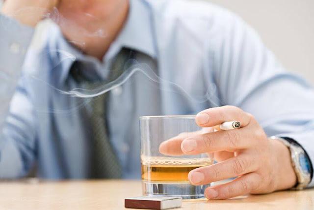 الأمراض الناجمة عن التدخين