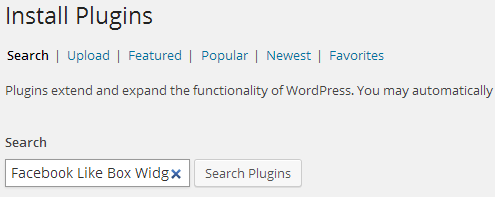 search plugin
