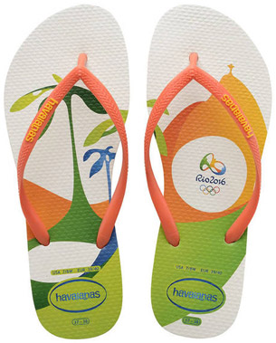 colección chanclas Rio 2016 Havaianas