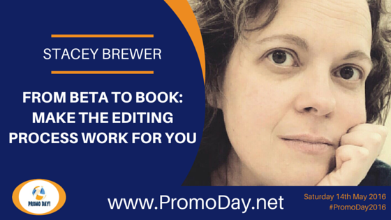 Stacey Brewer to Present Webinar at #PromoDay2016