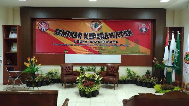 Rangkaian Kegiatan Seminar PPNI RSIJ Sukapura