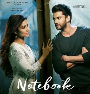 Notebook Movie 2019 - Salman Khan Next Film The Notebook, Zaheer Iqbal, Pranutan Bahl, Box Office, story, budget, star and cast