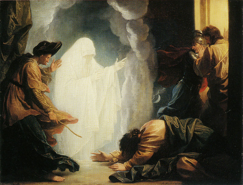 Although the Bible does not say the witch of Endor used the power of Satan to do her 'consulting of the dead,' we are told that she was possessed with a