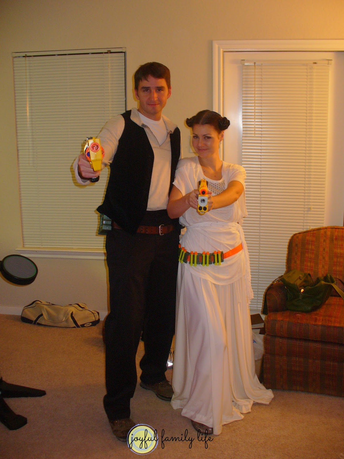 8 years of halloween couples costumes - joyful family life
