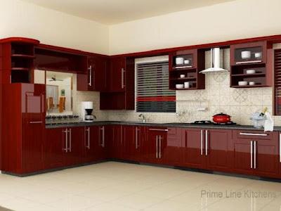 Small Kitchen Design In Kerala Style