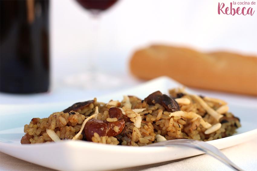 Arroz Caldoso Con Setas Y Pollo la cocina de rebeca: arroz meloso con setas