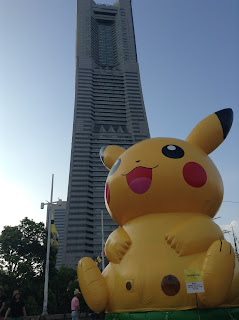 Pikachu Minato Mirai