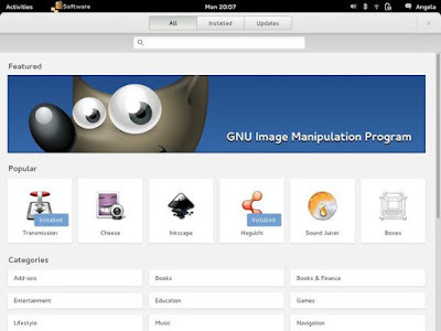 1. GNOME 3.x Desktop Environment