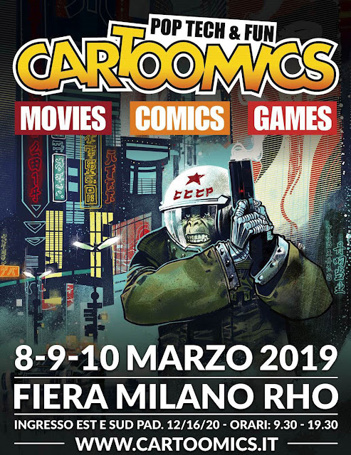 Cartoomics 2019 raduno Antro