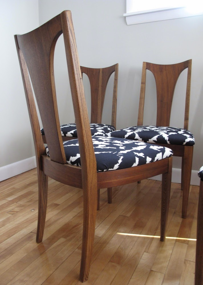Blue Lamb Furnishings 6 Mcm Broyhill Brasilia Dining Chairs Sold