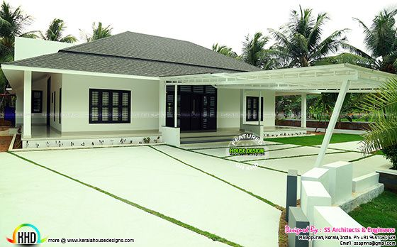 Full finished home with landscaping