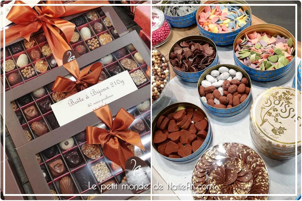 Boite à bijoux chocolat Petit'Grandeur et Boissier Salon du chocolat