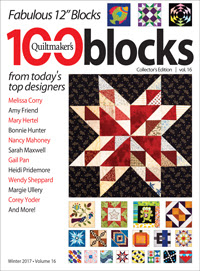 Quiltmaker's 100 Blocks Vol. 16 magazine