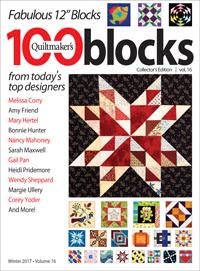 Quiltmaker's 100 Blocks Vol. 16 magazine