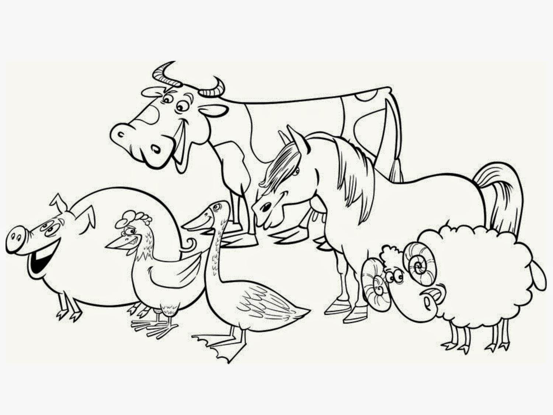 Desenhos De Animais Para Colorir: Desenhos Para Colorir E Imprimir: Desenhos Para Colorir De
