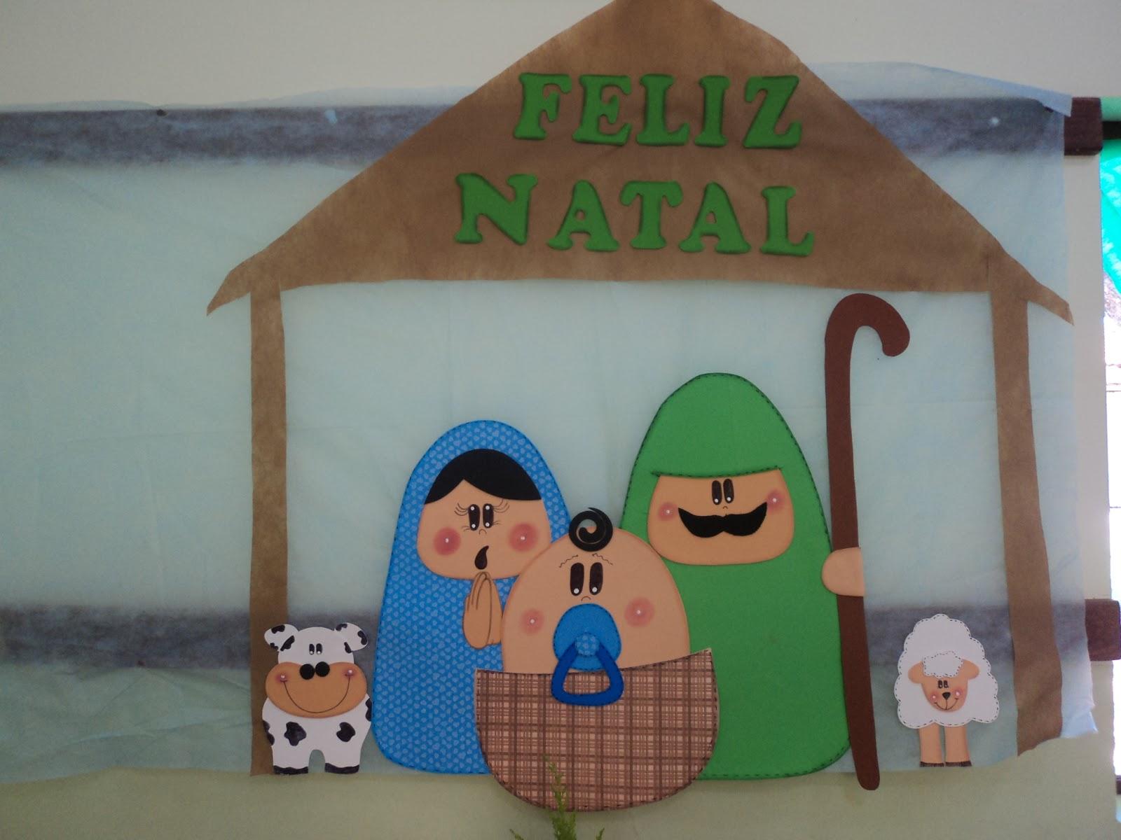 Mimos e encantos da educa o sugest es de pain is for Mural sobre o natal