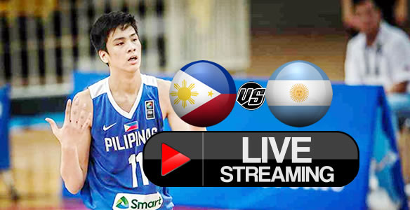 Livestream List: Batang Gilas Pilipinas vs Argentina July 4, 2018 FIBA Under-17 World Cup