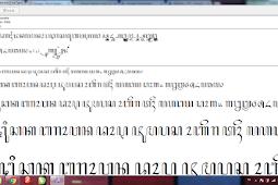 (Asli) Download font Hanacaraka (Aksara jawa)