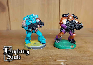 Space Marine Painting Warhammer 40k Competition Completed