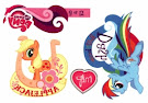 MLP Tattoo Card 9 Series 1 Trading Card
