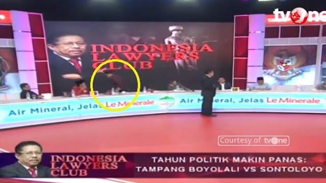 Detik-detik Budiman Sudjatmiko & Burhanuddin Meninggalkan Meja Diskusi saat Rocky Gerung Berargumen