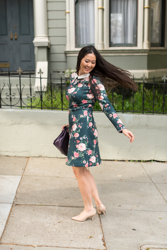 floral erin fetherson dress
