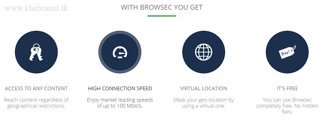 إضافة Browsec VPN