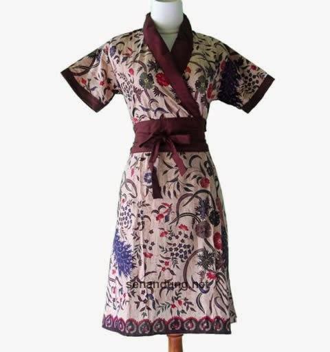 Baju Batik Guru Perempuan: 8 Koleksi Model Dress Baju Batik Terkini