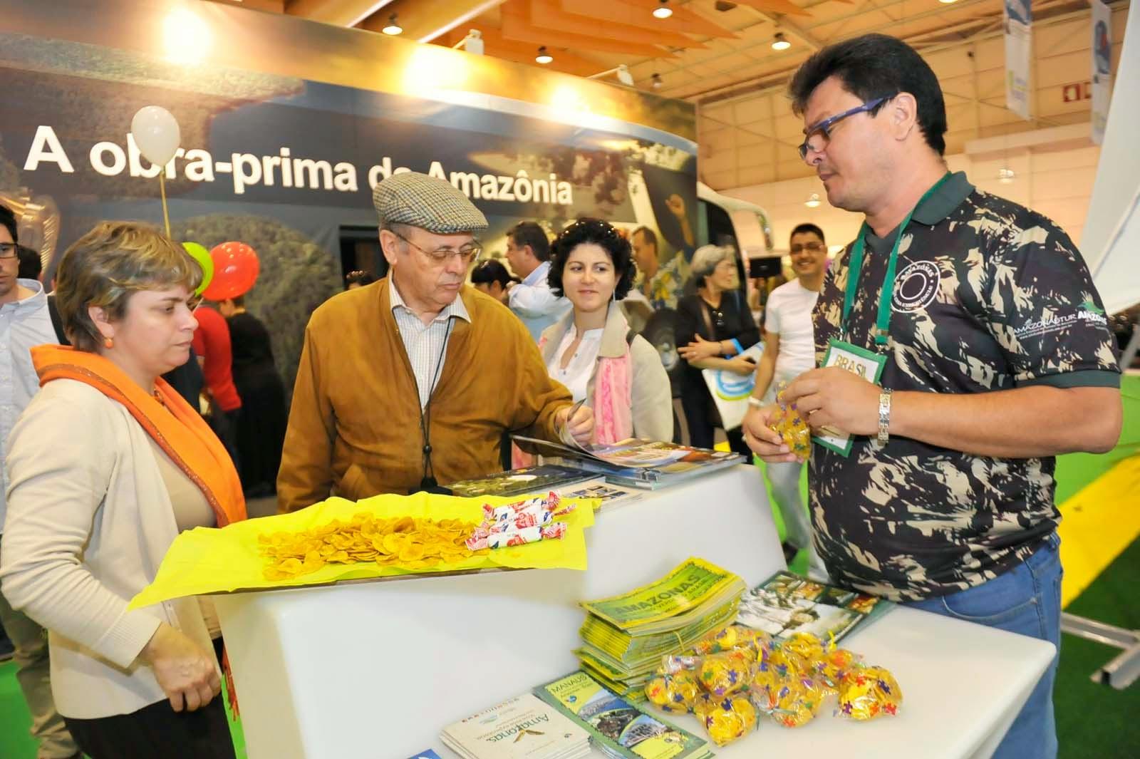 Amazonastur encerra feira de turismo de Lisboa com saldo positivo para o Estado