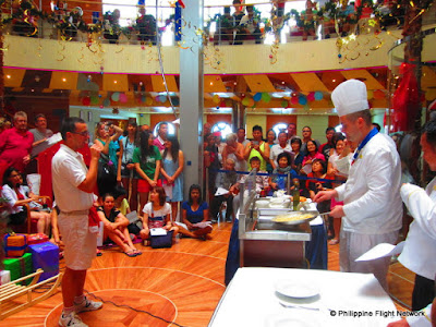costa victoria cooking demonstration