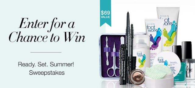 Avon is getting ready for a great summer by giving you a chance to enter once to win an awesome makeup, skin care and beauty prize package worth almost $70!