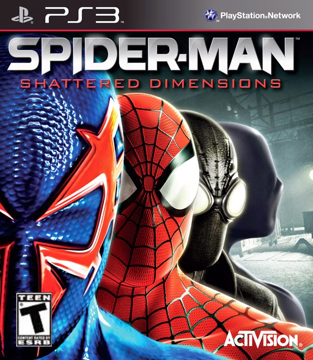 SPIDER MAN: SHATTERED DIMENSIONS PS3