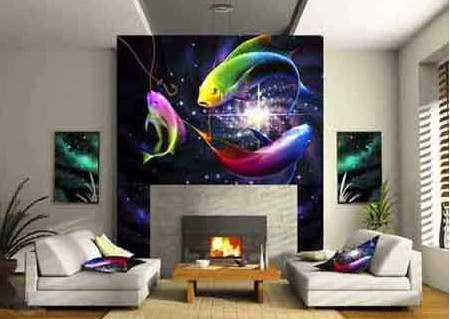 Bring Life To The Walls With Living Room Wallpapers 3