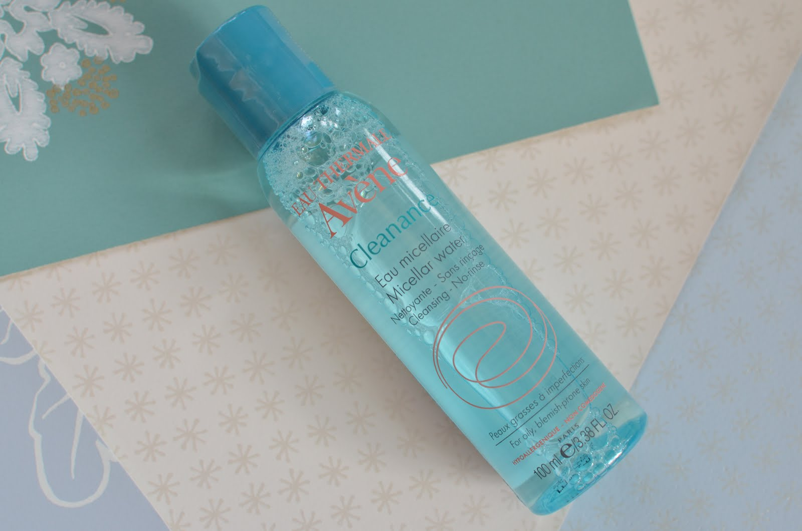 Avene Eau Thermale Cleanance Micellar Water Мицеллярная вода для проблемной кожи
